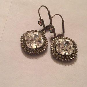 Sorrelli Austrian Crystal French Wire Earrings